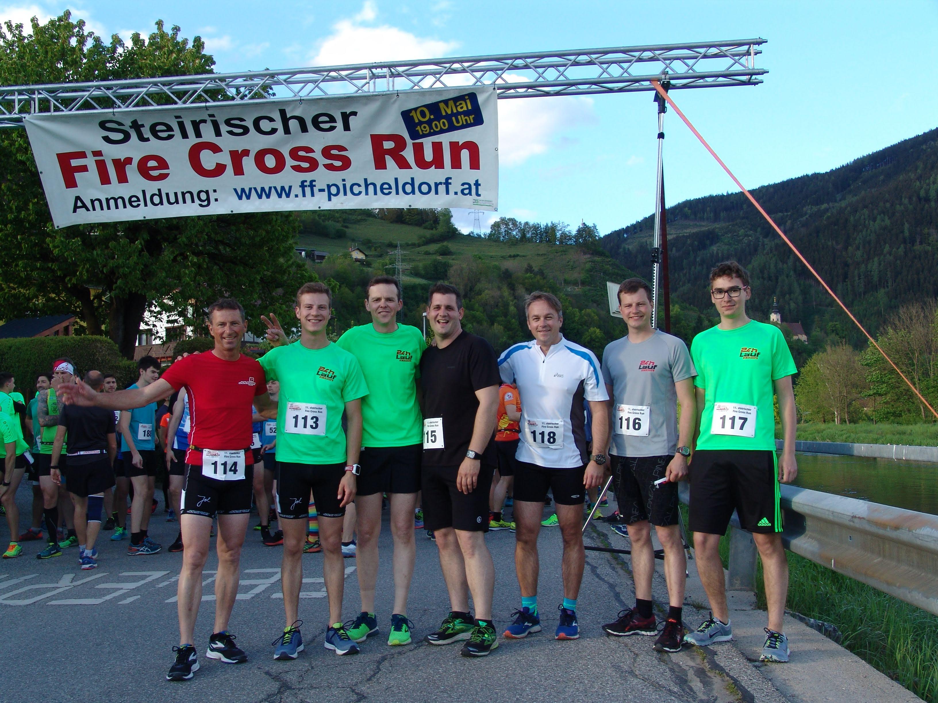 Fire Cross Run - Die Teilnehmer