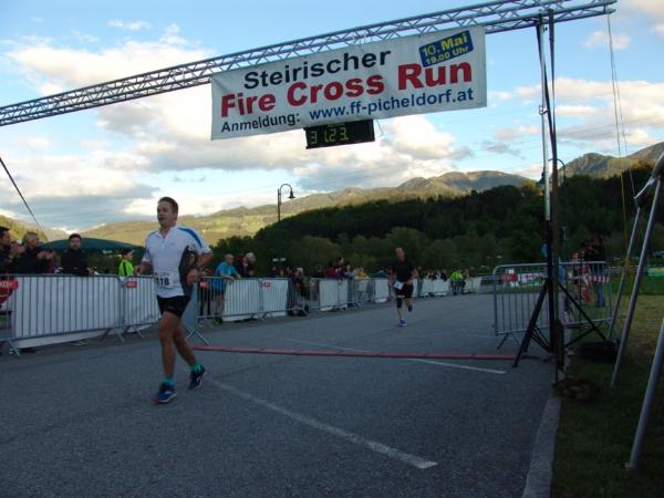 Fire Cross Run - Zieleinlauf Jürgen