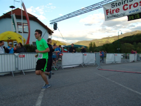 Fire Cross Run - Zieleinlauf Christian